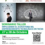 Technoparkidi y Universidad Jorge Basadre Impulsando Emprendimiento Tecnologico