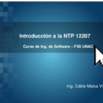 Curso de Ingenier?a de Software – NTP 12207
