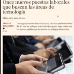 Nuevos Roles de Tecnologias solicitados segun el diario Gestion