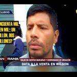 Datos a la venta en Wilson