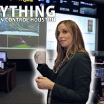 Centro de control de misiones de la Nasa en Houston